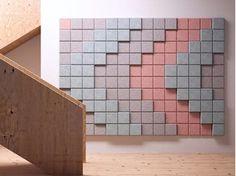 Acoustic Wood Wool Panels BAUX 3D PIXEL – BAUX