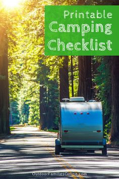 Don't ever forget anything again. Print Outdoor Families Magazine's free car camping checklist. Let us help you get your camping bins organized so you can get outside with the family more! Camping Packing, Camping List, Camping Checklist, Camping Essentials, Tent Camping, Campsite, Camping Hacks, Camping Gear, Outdoor Camping