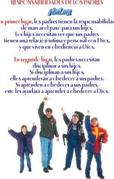 """Leer """"La responsabilidad es de los padres... - Los hijos son responsabilidad de los padres..."""" #wattpad #espiritual"""