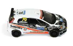 Fiat Grande Punto S2000 #70 K. Raikkonen - K. Lindstrom Rally Finland 2009 (F1 Driver)