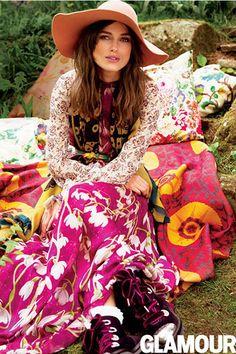 Keira Knightley para Glamour USA