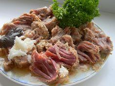 рецепты домашней тушенки из говядины Spaghetti, Pork, Food And Drink, Beef, Chicken, Ethnic Recipes, Food And Drinks, Food Food, Cooking