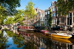 Whether you're looking to explore the culture and history of this capital city, experience the thriving nightlife or just enjoy the relaxing ambiance, Amsterdam has it all. Description from lowfares.com. I searched for this on bing.com/images