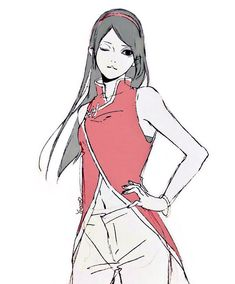 Sarada Uchiha: Sakura & Sasuke's Daughter.