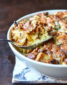 """Recipe:  Make-Ahead """"Ham & Cheese"""" Breakfast Casserole — Brunch Recipes from The Kitchn"""