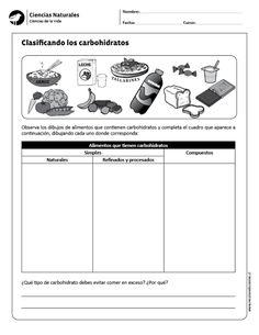 Clasificando los carbohidratos