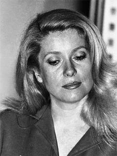 Catherine Deneuve in Cannes, 1976.