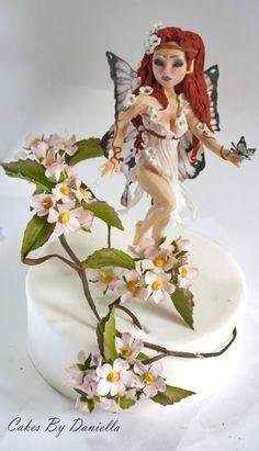 Apple blossoms fairy topper
