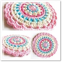 Free Crochet Pattern Little Spring Mandala | Crochet Direct