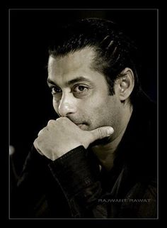 Salman Khan: he's thinking about his next jibe against SRK in this picture...I just know it.