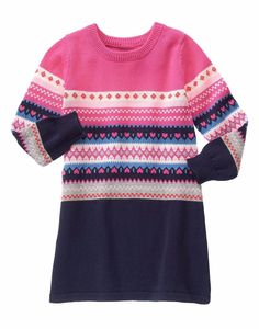 475db50a265 See more. GYMBOREE Fair Isle Flurry Girls 5 5T Pink Navy Hearts Holiday Sweater  Dress NWT  Gymboree