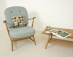 Love Vintage Furniture: A flock of ERCOL armchairs