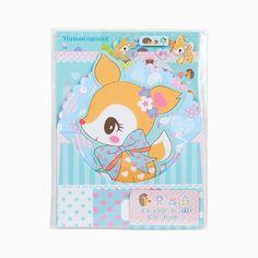 2015 Sanrio Japan HUMMINGMINT DEER Letter Set Stationery