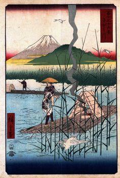 The Sagami River, Hiroshige