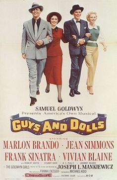 Guys and Dolls Movie Posters Original and Vintage