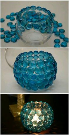 17 DIY Candle Holders to Decorate Your Home, DIY and Crafts, 17 DIY Candle Holders to Decorate Your Home www. Diy Home Crafts, Jar Crafts, Diy Crafts To Sell, Diy Crafts For Kids, Sell Diy, Kids Diy, Decor Crafts, Glue Crafts, Diy Candle Holders