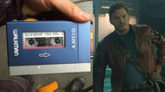 """Chris Pratt suggests listening to Awesome Mix Vol. 2 for the first time in the theater watching GUARDIANS OF THE GALAXY VOL. 2. """" I use to own a yellow sports walkman, god i'm old  LOL """""""