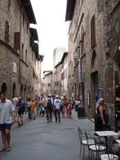 Viagem virtual pela região de San Gimignano - descrição de viagens