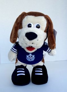 "New AHL-Toronto Maple Leafs Marlies Duke 13"" Mascot Plush #75 