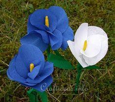 Paper Craft - flores de papel crepom