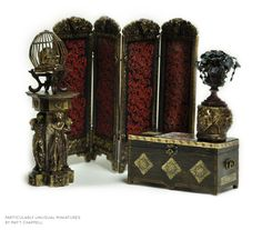 Haunted Mansion themed #miniatures for your dollhouse