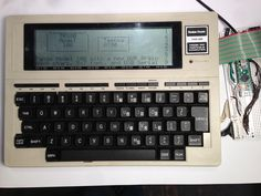 Tandy TRS-80 upgrade - replacing the original motherboard with an Arduino board, driving the keyboard and display, plus emulating the original operating system.