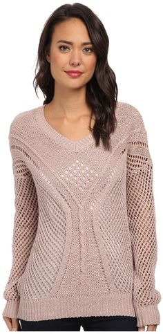Shop for BB Dakota Damia Cable Knit Sweater at ShopStyle. Lace Sweater, Cable Knit Sweaters, Crochet Clothes, My Wardrobe, Knitwear, Knitting Patterns, Knit Crochet, Crew Neck, Pullover