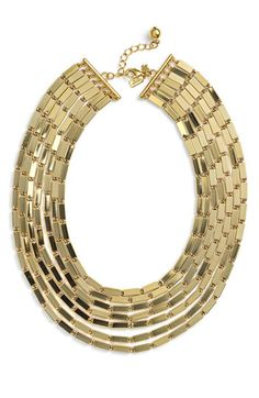 kate spade new york 'gold rush' collar necklace