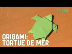 Origami : Tortue de mer - HD - YouTube