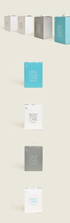 NU SKIN-ALL - IN - ONE PACKAGE  cosmetics packaging design