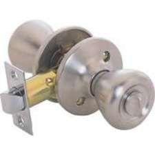 99 for bedroom or bathroom doors both knobs lock and unlock