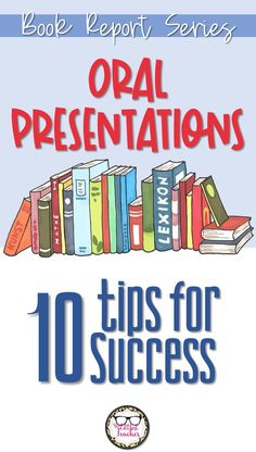 Learn more about how to help your students give oral presentations of their book report! English Teaching Resources, Teacher Resources, Secondary Resources, Learning English, Middle School Literature, Reading Lessons, Reading Skills, High School English, Good Grades