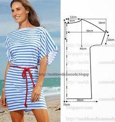 одежда для пляжа своими руками
