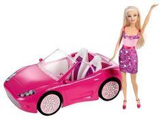Mattel Barbie kabriolet auto a panenka Y7056   Kidscompany.