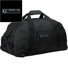 68bf8410bc63 Basic Large-Sized Duffel Bag by GYMRATED™