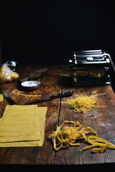 Homemade Egg Pasta  A Brown Table