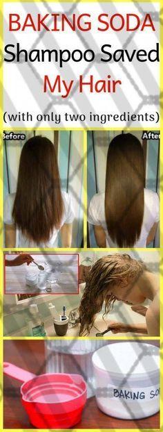 Baking Soda Shampoo: It will Make Your Hair Grow Like It can be Magic! #WhatToUseInsteadOfBakingSoda #BakingSodaAndVinegarShampoo #DeadSeaSaltSkinCare #BakingSodaForHair Baking Soda Dry Shampoo, Baking Soda For Dandruff, Baking Soda For Hair, Baking Soda Water, Baking Soda Uses, Natural Dry Shampoo, Mild Shampoo, Honey Shampoo, Shampoo Bar
