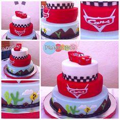 #pastelicious #fondantcake #birthdaycake #cars