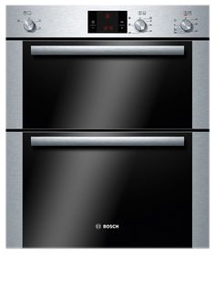 Bosch Hbn13b251b Brushed Steel Electric Double Oven Diy At B Q