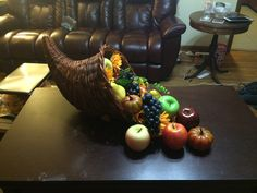 Thanksgiving Cornucopia Thanksgiving Cornucopia, Horn Of Plenty, Great Recession, Ancient Symbols, Harvest, Fruit, Simple, Projects, Log Projects
