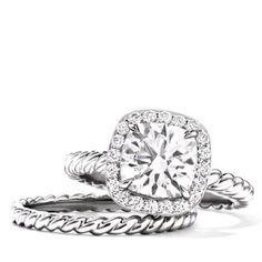 David Yurman engagement ring. Future husband take notes!