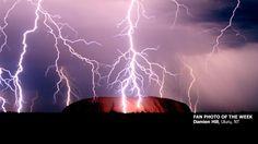 Lighting Storm at Uluru