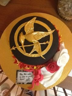 Hunger Games Mockingjay Cake