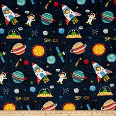 Alexander Henry Monkey's Business My Space Friend Black Fabric