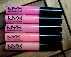 In love with the NYX lipglosses!