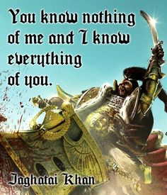 Primarch Quotes - Jaghatai Khan
