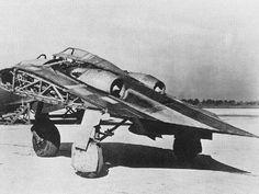 """Restauración de la """"ala volante"""" Horten 229 V3 - Taringa!"""