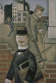 Grauer Tag - Georg Grosz (1921).  Discover the coolest shows in New York at www.artexperience...