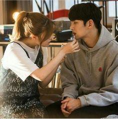 "Nam Ji Hyun Becomes Ji Chang Wook's Personal Nurse In ""Suspicious Partner"" Stills Korean Actresses, Asian Actors, Korean Actors, Actors & Actresses, Korean Dramas, Movie Couples, Cute Couples, Suspicious Partner Kdrama, Ji Chang Wook Smile"