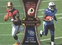 2012 Topps Paramount Pairs PA-GW Robert Griffin III Kendall Wright ---> shipping is $0.01 !!!